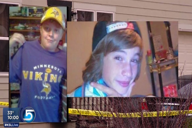 Authorities released new details Friday about the investigation into the deaths of Dayton Gessell, 15, and Taylor Wheeler, 12, after saying a year ago that it was a murder-suicide. (courtesy ksl.com)