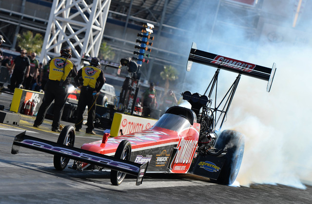 Dragster diary making a run to the semis las vegas for Las vegas motor speedway drag strip