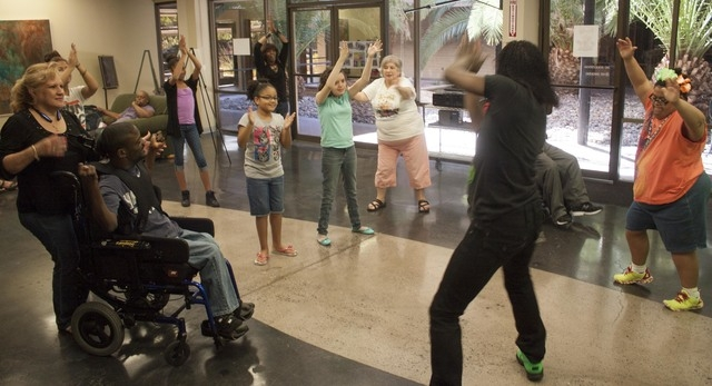 At a Saturday afternoon dance class, students learn new dances at Life Long Dreams. The organization, which gives children with special needs access to performance arts, is hosting a fundraiser Sa ...