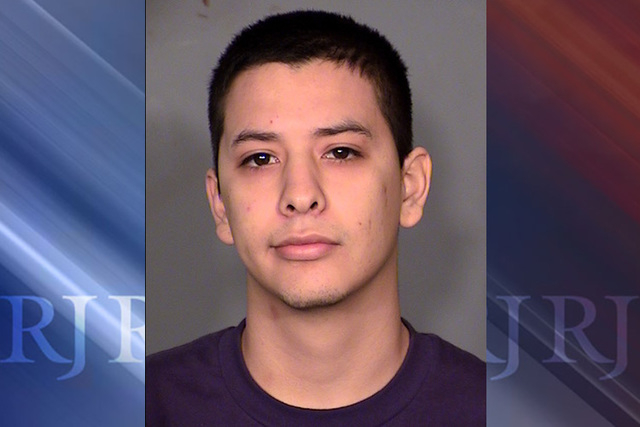 Luis Loya, 19, is facing a murder charge in connection with the May shooting death of 17-year-old Angel Campos. (Courtesy Las Vegas Metropolitan Police Department)