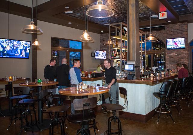Made LV restaurant in Tivoli Village at Rampart Boulevard and Alta Drive in Las Vegas is shown Saturday, Nov. 1, 2014. (Donavon Lockett/Las Vegas Review-Journal)