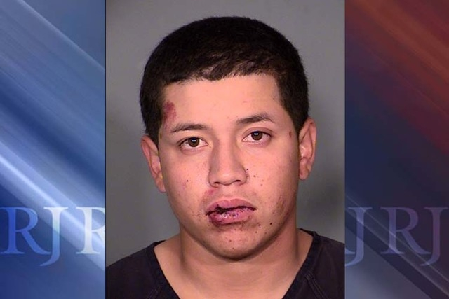 Marcelo Zavala Jr., 19, was arrested in connection with the collision on Summerlin Parkway near Buffalo Drive on Sunday, November 2, 2014, that killed 19-year-old Steven Salas-Limon, a passenger i ...