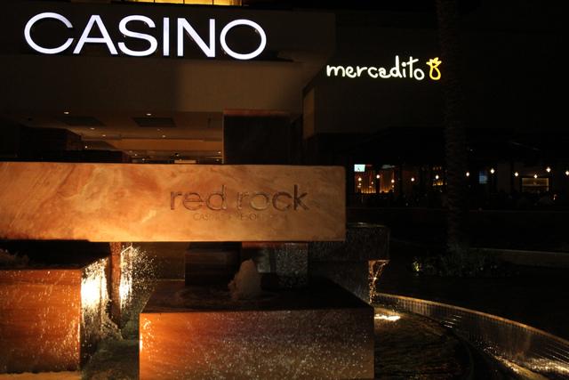 A sign for Mercadito restaurant inside Red Rock Resort in Las Vegas is seen during dinner service Saturday, Nov. 22, 2014. (Erik Verduzco/Las Vegas Review-Journal)