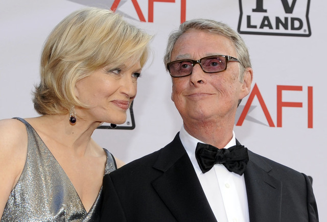 Journalist Diane Sawyer and director Mike Nichols arrive at the AFI Lifetime Achievement Awards honoring Nichols at Sony Pictures Studios, June 10, 2010, in Culver City, Calif. ABC News confirms d ...
