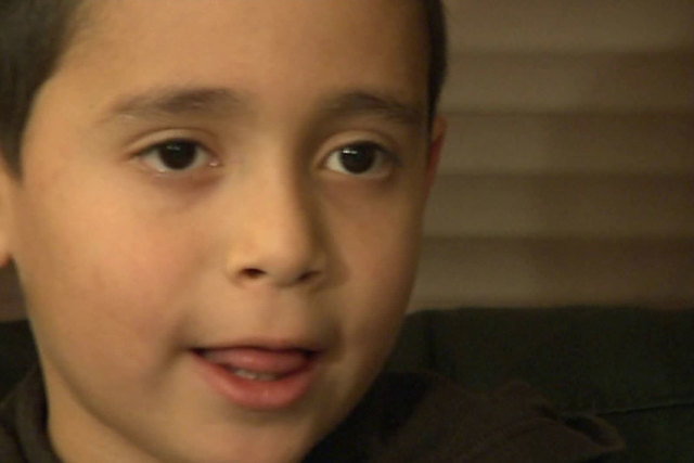 Xavier, a first-grader in Snohomish, Washington, was denied a school lunch in October, but no explanation was given to him or his parents as to why. (CNN)