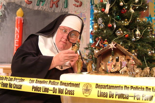 """Sister's Christmas Catechism,"" opening a week-long run at The Smith Center's Troesh Studio Theater, explores ""The Mystery of the Magi's Gold."" (Courtesy photo)"