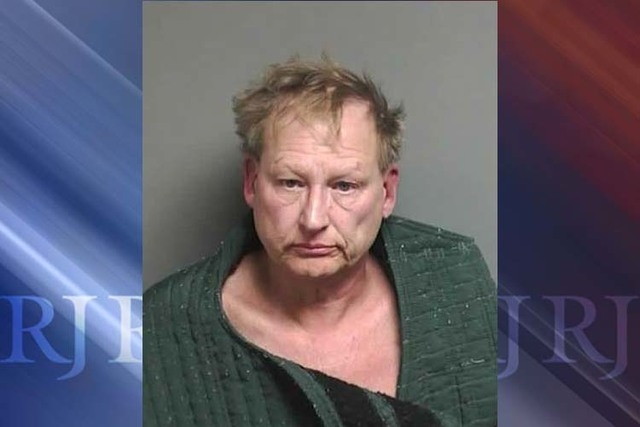 A booking photo provided by the Macomb Country Sheriff, is of Daniel Fritz, 60-year-old suburban Detroit man.  Fritz has been arrested in a Star Wars costume after meeting with police officers who ...