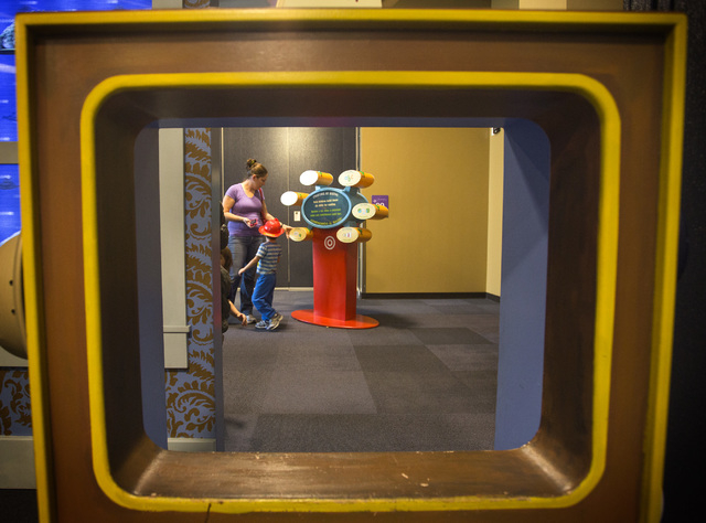 "The ""Storyland: A Trip Through Childhood Favorites,"" exhibit seen Friday, Nov.14, 2014 at the Discovery Museum,360 Promenade Place. The  touring exhibit runs through Jan. 4.    (Jeff Sch ..."