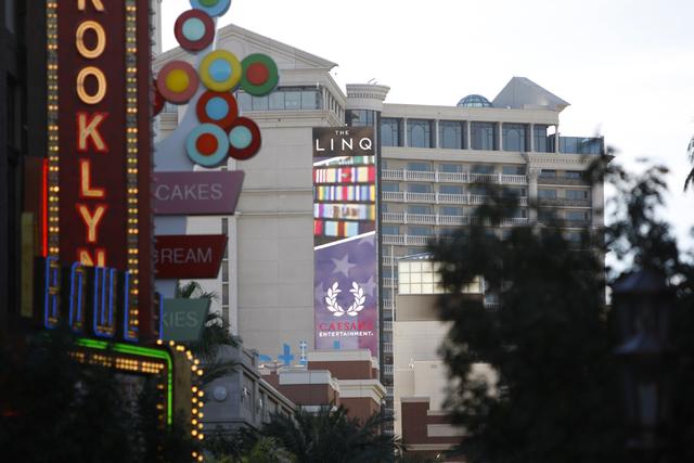 The Linq in Las Vegas is seen on Tuesday, Oct. 21, 2014. (Erik Verduzco/Las Vegas Review-Journal)