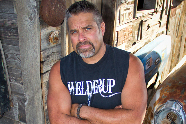 """Las Vegas native Steve Darnell stars in Discovery Channel's """"Vegas Rat Rods."""" (Courtesy Discovery Channel)"""