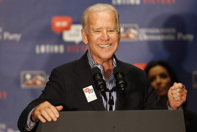Why is this man smiling? No, seriously, I want to know: Why is this man smiling?! The Democrats are losing big-time!
