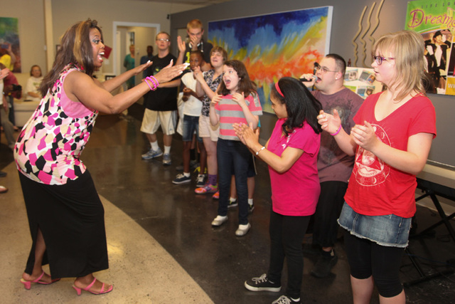Life Long Dreams, a local nonprofit, gives special-needs children the opportunity to participate in performance and visual arts. (Special to the Las Vegas Review-Journal)