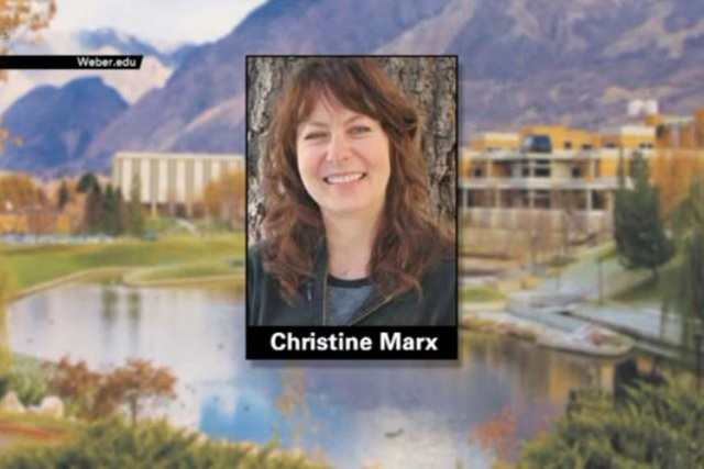 Officials said a Weber State University math instructor has violated NCAA ethical conduct rules after completing coursework for five university football players. (Screengrab/KSTU)