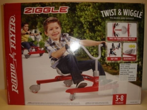 """""""Ziggle"""" four-wheeled cycle by Radio Flyer. (Courtesy W.A.T.C.H.)"""