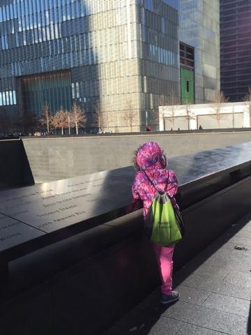 A visit to the 9/11 Memorial. (Courtesy Lori Cox)