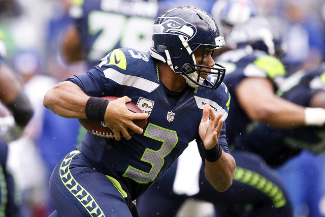 Quarterback Russell Wilson and the defending Super Bowl champion Seahawks  have gotten back into the thick 4b2c429e2