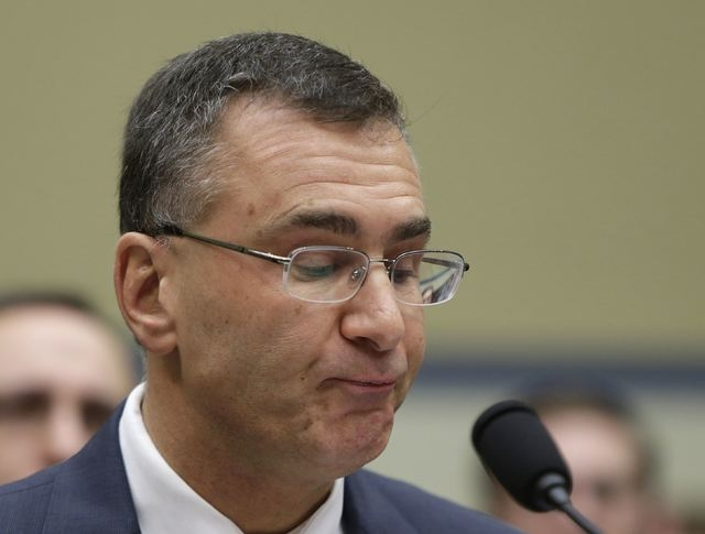 "Obamacare consultant Jonathan Gruber testifies before a U.S. House Oversight and Government Reform hearing on ""Examining Obama Transparency Failures"" in Washington,Tuesday, Dec. 9, 2014. Gruber ap ..."