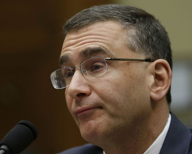 "Obamacare consultant Jonathan Gruber testifies before a U.S. House Oversight and Government Reform hearing on ""Examining Obama Transparency Failures"" in Washington, Tuesday, Dec. 9, 2014. Gruber a ..."