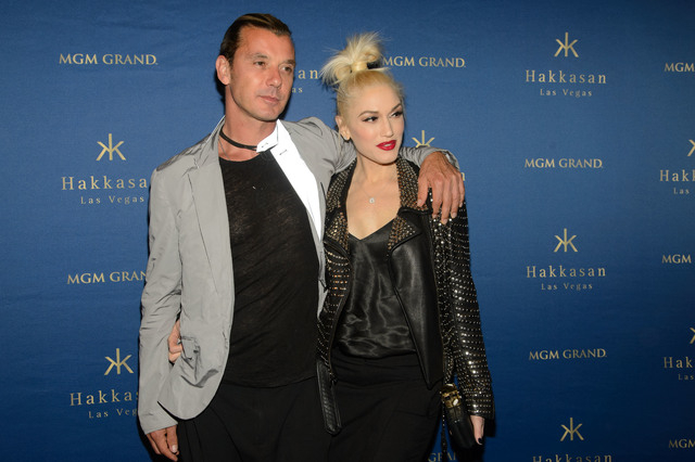 Hakkasan Las Vegas celebrates their one year anniversary with Gwen Stefani and Gavin Rossdale on April 26, 2014, Las Vegas, NV  (Photo by Al Powers/Powers Imagery/Invision/AP)