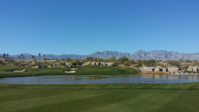 Coyote Springs Golf Course offers wide-open vistas seen from nearly every undulating fairway. Add in numerous bear claw-shaped bunkers strategically placed for your tee shots, several water featur ...