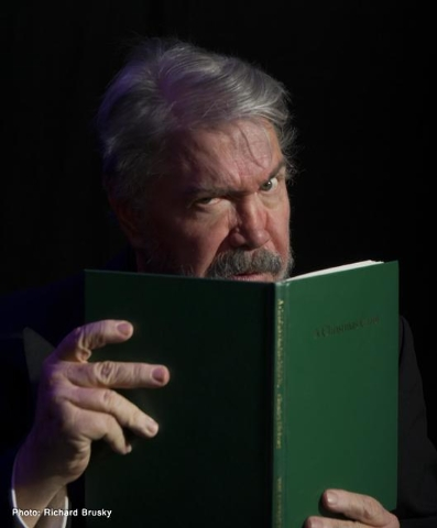 """Byron Tidwell portrays Charles Dickens in a one-man version of """"A Christmas Carol"""" at the Onyx Theatre. Courtesy photo."""