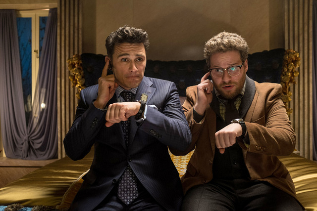 James Franco and Seth Rogen star in The Interview.( Ed Araquel/Sony Pictures Entertainment.)