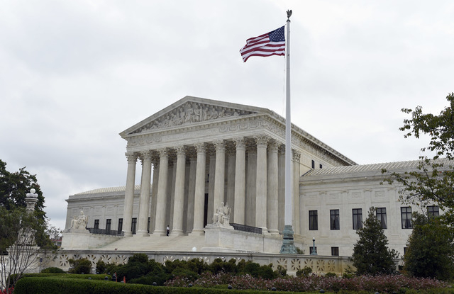 The Supreme Court in Washington, Friday, Oct. 3, 2014. (AP Photo/Susan Walsh)