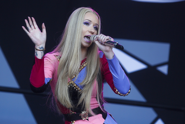 In this Oct. 4, 2014, file photo, Iggy Azalea performs at the Austin City Limits Music Festival in Austin, Texas. (Photo by Jack Plunkett/Invision/AP, File)