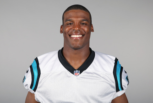 This is a 2014, file photo showing Cam Newton of the Carolina Panthers NFL football team. Newton has been taken to a hospital after being involved in an auto accident in Charlotte, N.C., Tuesday,  ...