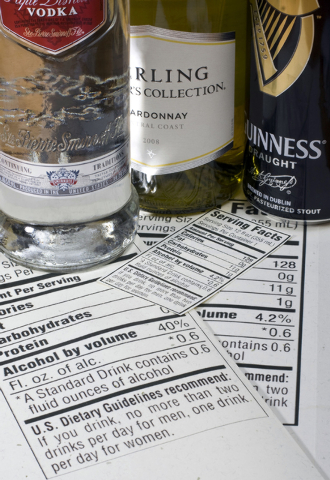 New menu labeling rules from the Food and Drug Administration will require chain restaurants with 20 or more outlets to list the amount of calories in alcoholic drinks, along with other foods, on  ...