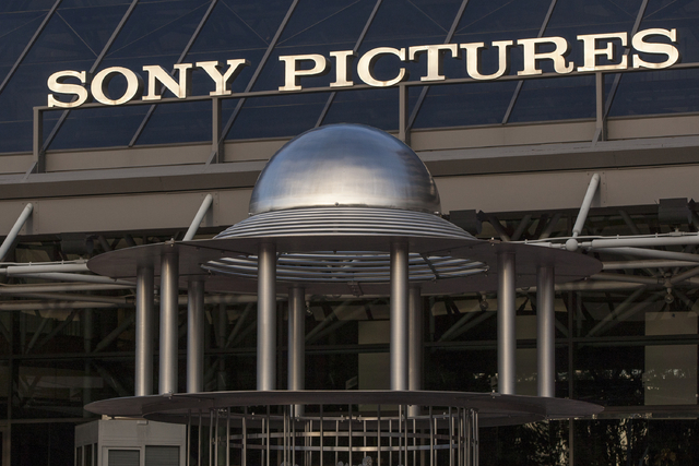 """An exterior view of the Sony Pictures Plaza building is seen in Culver City, Calif., Friday, Dec. 19, 2014. President Barack Obama declared Friday that Sony """"made a mistake"""" in shelving  ..."""