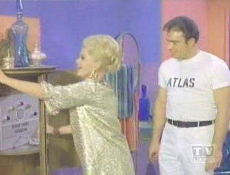 "Dodger outfielder Al Ferrara played one of the goons of Minerva (Zsa Zsa Gabor) in the final episode of the ""Batman"" TV series before it was canceled. (YouTube)"