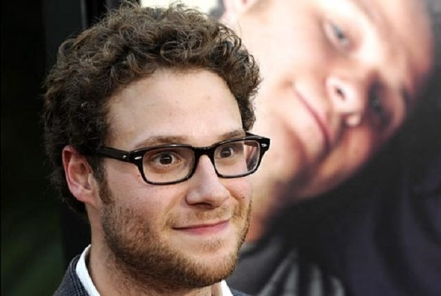 """Seth Rogen co-stars with James Franco in """"The Interview,"""" a movie about two journalists who travel to North Korea to interview (and possibly assassinate) Kim Jong-un. (Associated Press file)"""