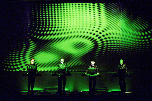 Kraftwerk makes music on machines, some of which were designed and/or built by themselves. (Courtesy)