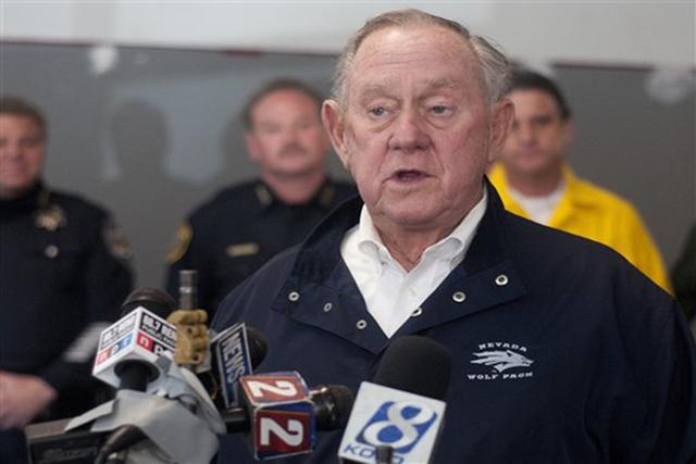 Reno Mayor Bob Cashell. (AP Photo/Kevin Clifford)