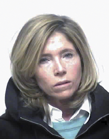 This booking photo released by the Dedham, Massachusetts, Police Department shows Carla Conigliaro, the majority shareholder of New England Compounding Center who was arrested at her home in Dedha ...