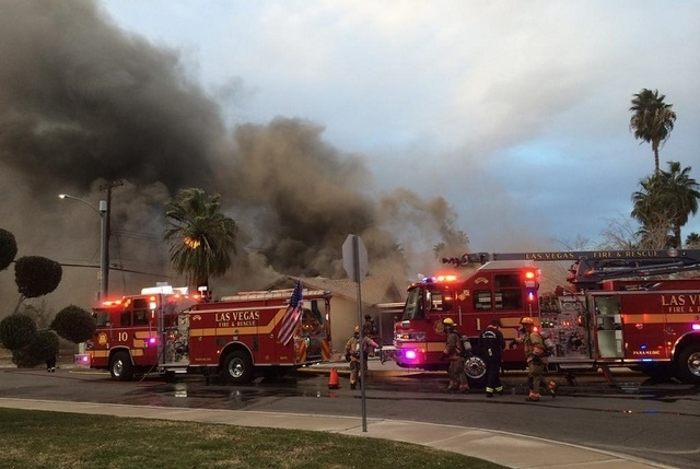 (Courtesy, Las Vegas Fire & Rescue/Twitter)