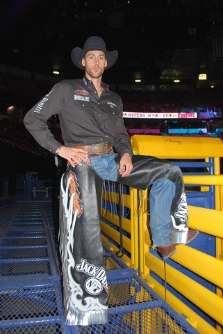 Neal Reid/Special the the Las Vegas Review-Journal Bull rider Beau Hill is enjoying his return to the Wrangler NFR this year after a 10-year absence.