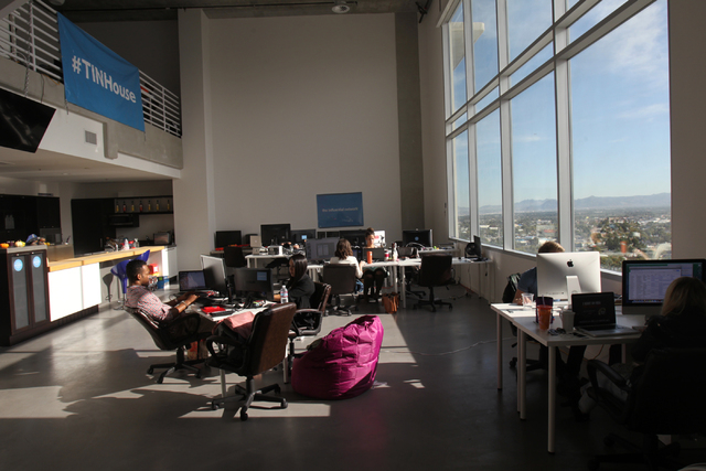 The Influential Network office space in Las Vegas is seen on Thursday, Nov. 20, 2014. The Influential Network is a social media marketing company that promotes brands online. (Erik Verduzco/Las Ve ...