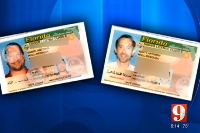 A Florida gay couple, Daniel DeSousa and Scott Wall, are suing the state's motor vehicle agency for revoking drivers' licenses they said they received by showing their marriage license from Ne ...