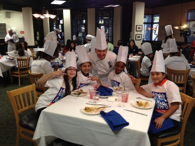 Le Cordon Bleu College of Culinary Arts Las Vegas, 1451 Center Crossing Road, hosted a Pre-Thanksgiving meal Nov. 25 for Von Tobel Middle School students in the After-School All-Stars program. Las ...