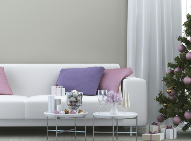 Thinkstock Pastel colors have become increasingly popular for holiday decor.