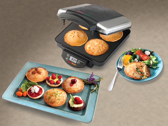 Courtesy Chef'sChoice The new Chef'sChoice PetitePie maker quickly bakes four delicious individual size pies that can be filled with a variety of flavorful fillings.