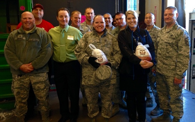 America First Credit Union donated $10,000 in turkeys to Nellis Air Force Base through Operation Warmheart on Nov. 24. In partnership with Smith's Food & Drug, the credit union purchased $10,000 ...