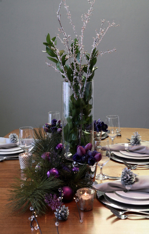 Tribune News Service Centerpieces don't have to cost a bundle. Items you might already have in the home can be repurposed to help create an elegant table.