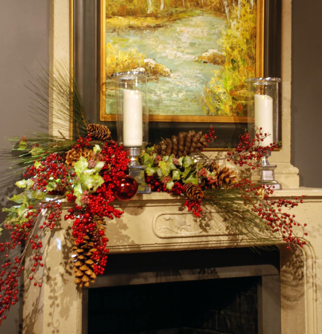 Tribune News Service Your mantel and chandelier need to communicate one lovely, focused look, not be a hodgepodge of lots of different themes.