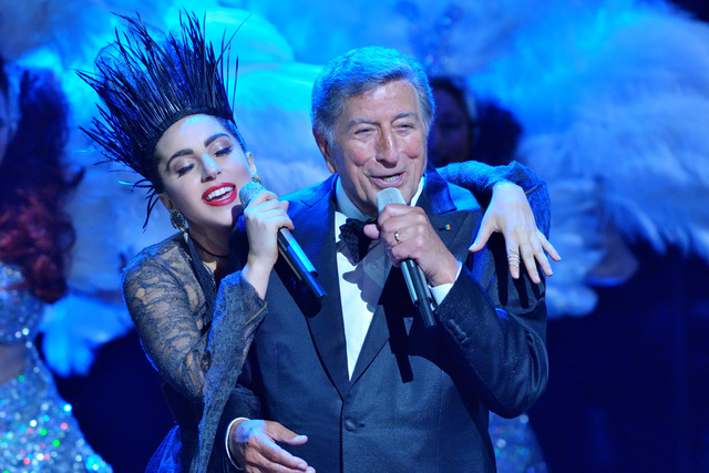 "Lady Gaga and Tony Bennett brought their ""Cheek to Cheek"" album to PBS for ""Great Performances"" last summer (Courtesy PBS)"