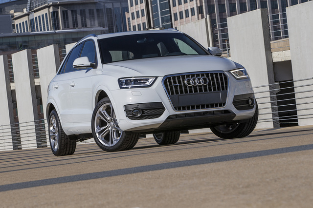 Courtesy photo The Q3 will join the A3 sedan in early 2015 and the A3 Cabriolet (convertible).