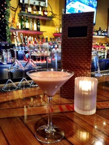 Egg Nog Tini, Elements Kitchen & Martini Bar (Courtesy)