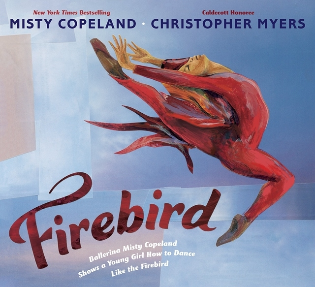"""In the new book """"Firebird"""" by Misty Copeland, illustrated by Christopher Myers, a young girl learns to replace the word """"can't"""" with one that strengthens. (Special to View)"""